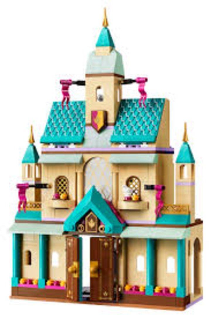 frozen 2 castle toy