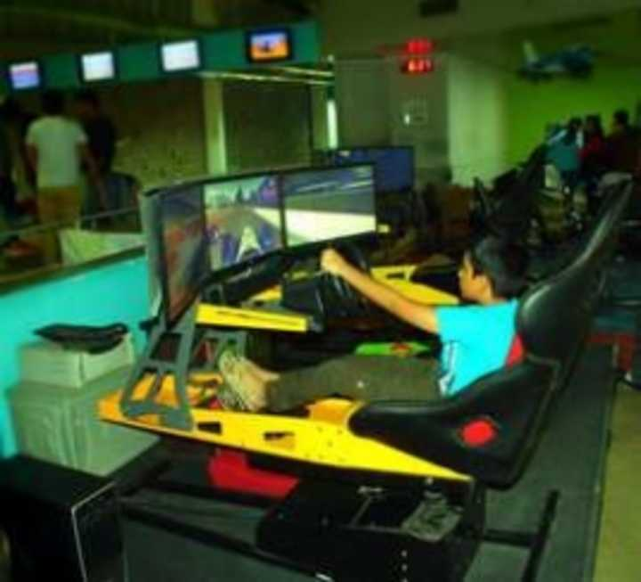 From Laser Tag To Stimulated Flights Car Rides And Virtual Golf Play Arena Is A Fun Gaming Zone With Something For All Members Of The Family