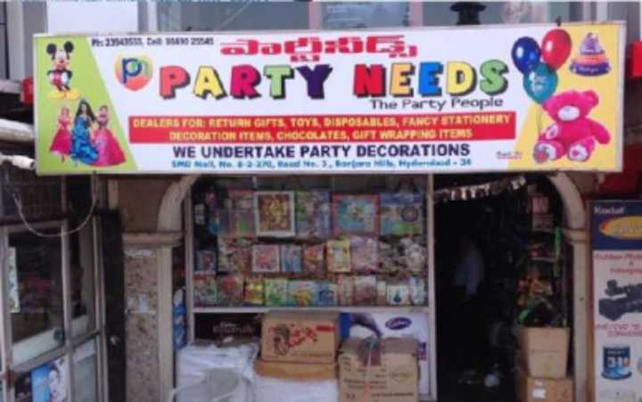 Party Needs Has Become A Popular One Stop Destination For All It Types Of Decor Options That Would Spruce Up Your Childs Birthday