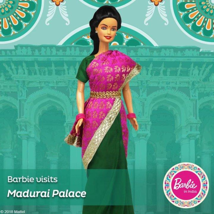 Barbie in India New Visits Ajanta Caves