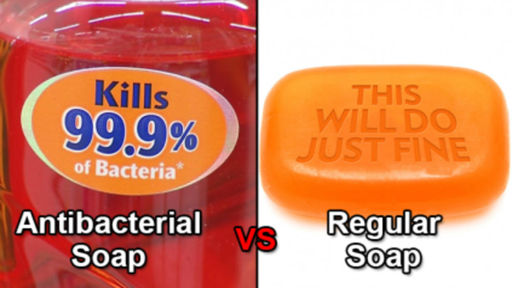 Say NO to antibacterial soaps and sanitizers