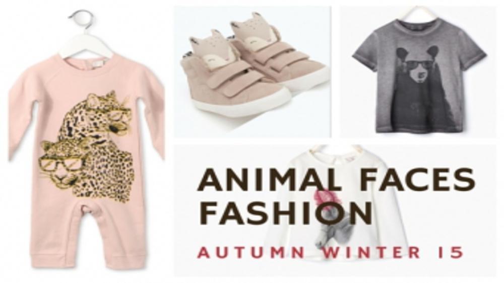 ANIMAL FACES FASHION AW15