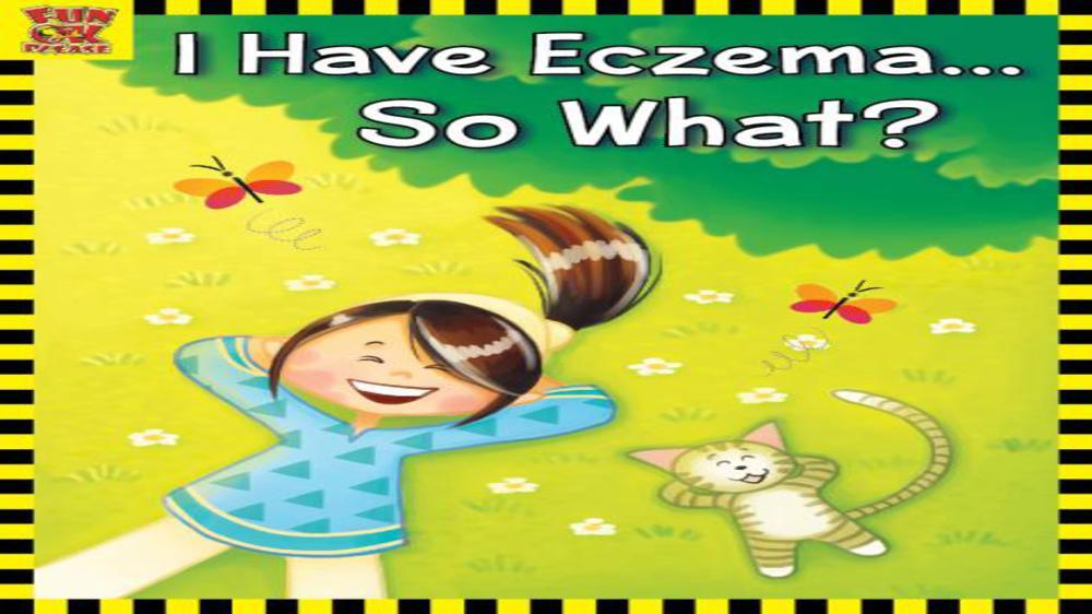 The treatment which is healing my daughter's eczema, my book on eczema and giving back to society