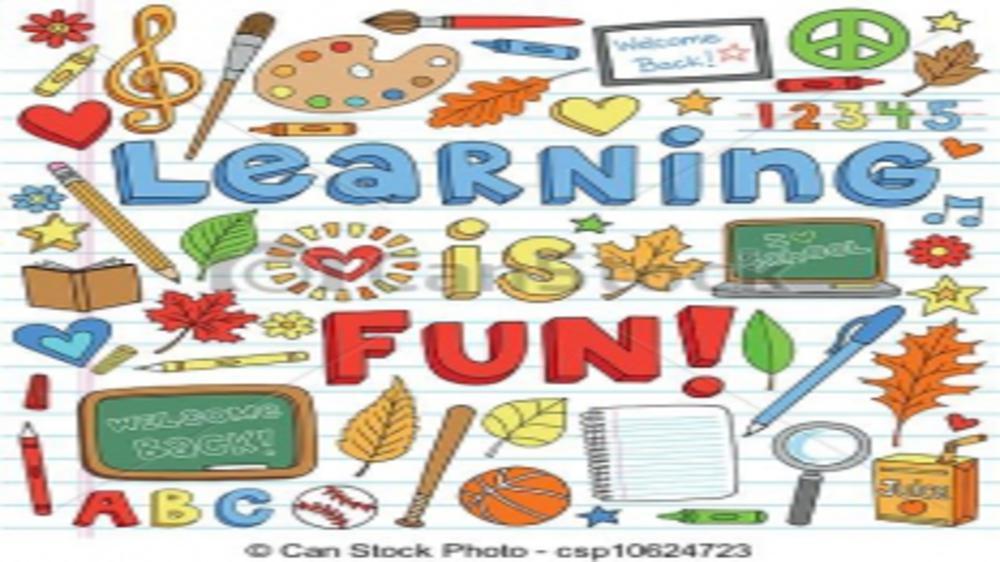 Making learning fun!