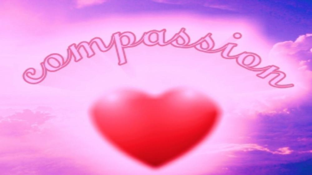 COMPASSIONATE HEART IS A HEALTHY HEART!