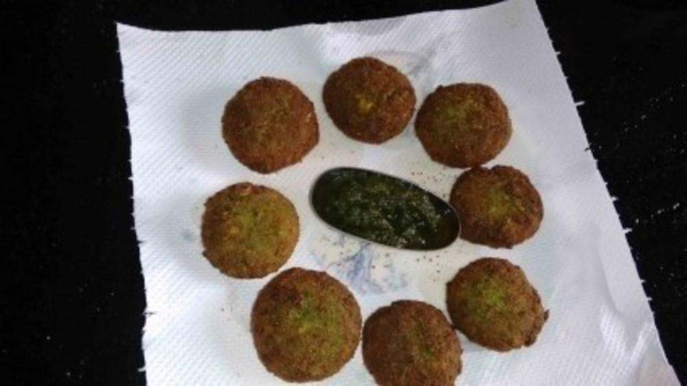 Green peas and cheese cutlet recipe by Sharmila Nasarpuri-
