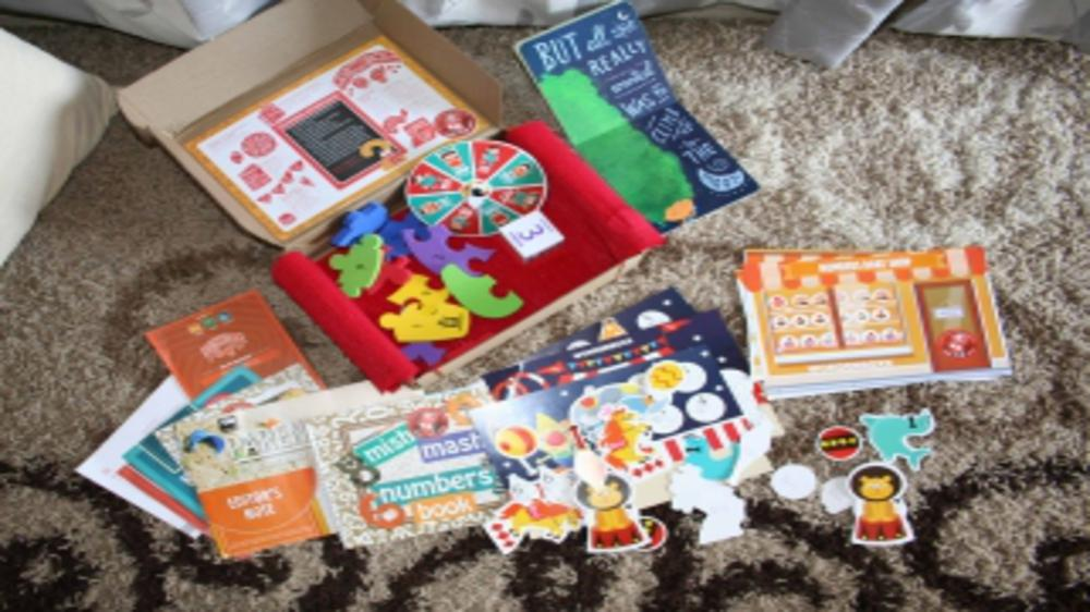 Nutty Numbers ~ September's Wonderboxx Review