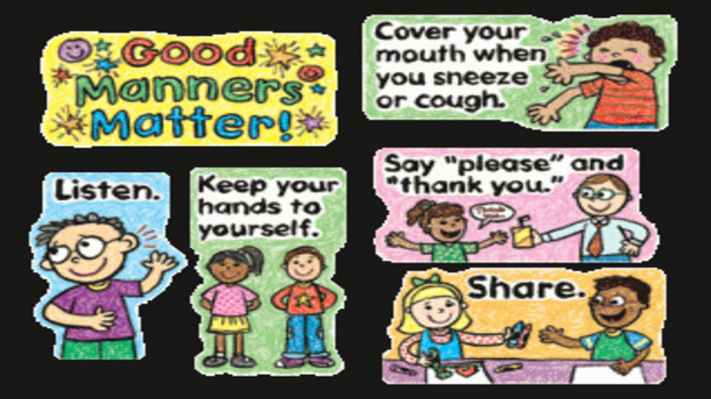 Basic Social Manners to teach our kids