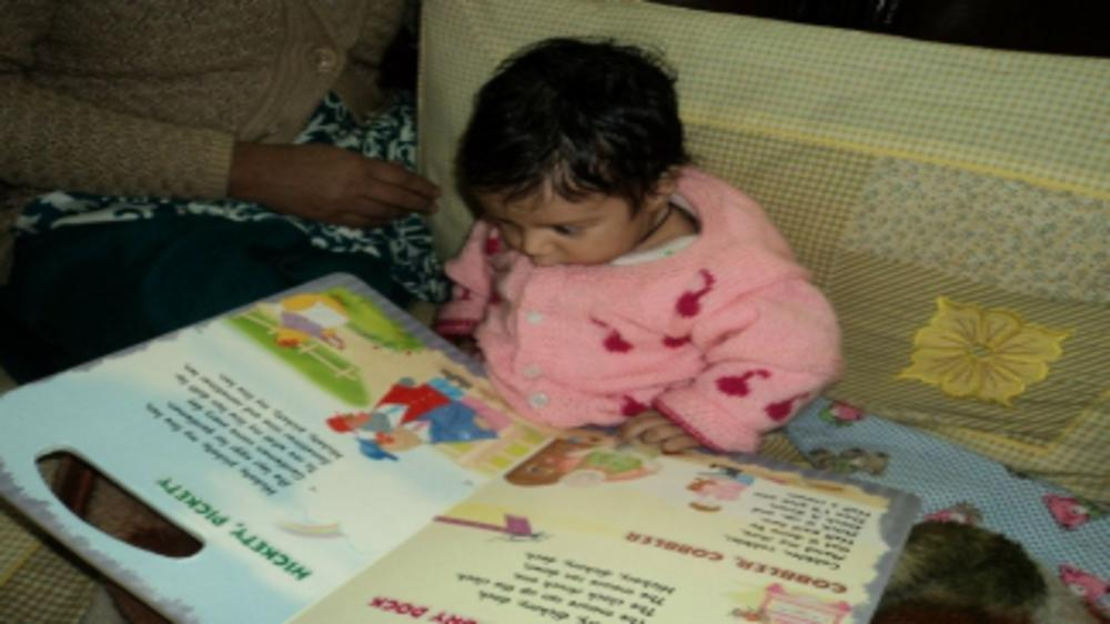 How I introduced books and stories to my baby
