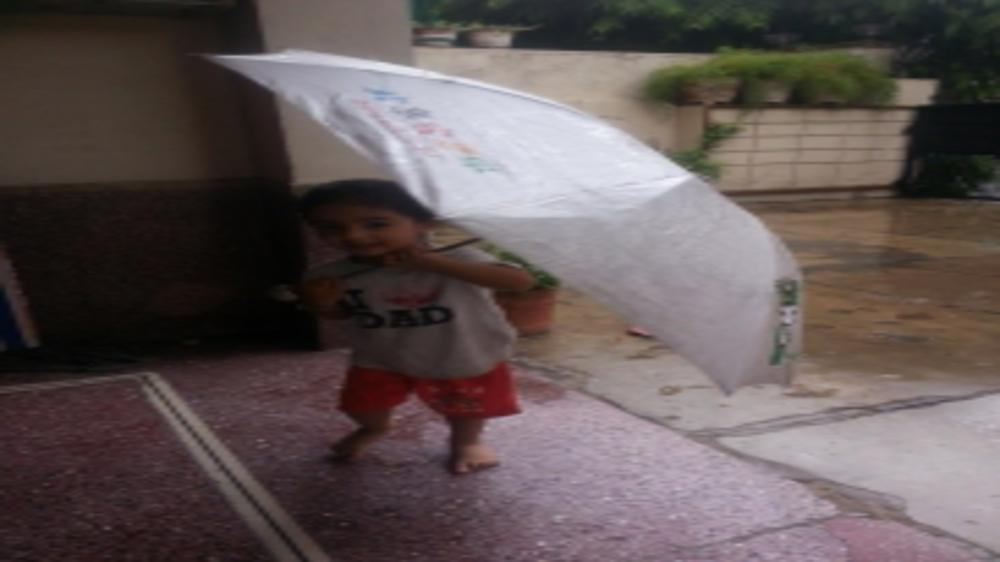 Rain Day After Day, As Little One Wants to Play