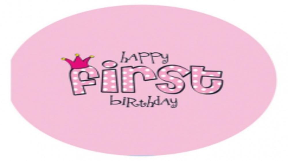 Happy 1st Birthday my darling !!