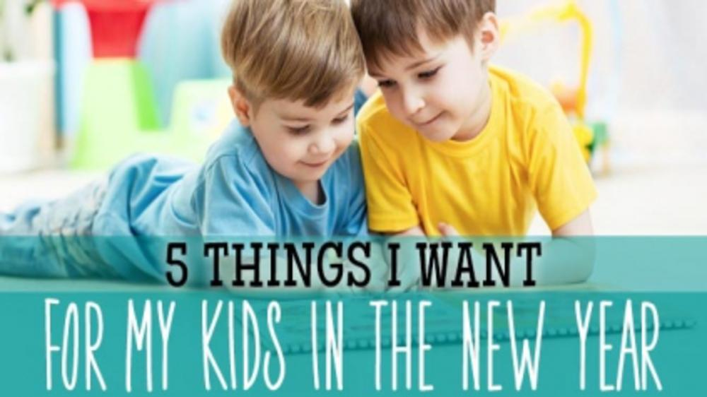 NEW AND INTERESTING LIFE-LESSONS TO DO WITH KIDS THIS NEW YEAR
