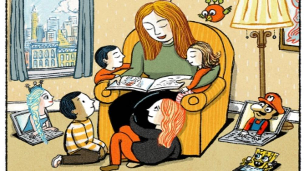 READ TO YOUR CHILD AS NO APP CAN REPLACE YOUR LAP