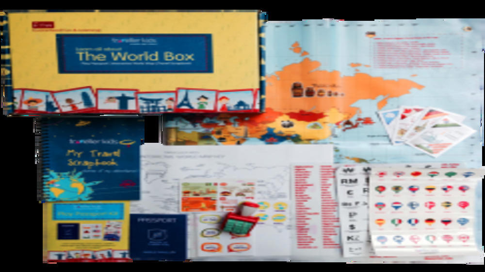 Product Review: Learn About the World Box by CocomocoKids.com
