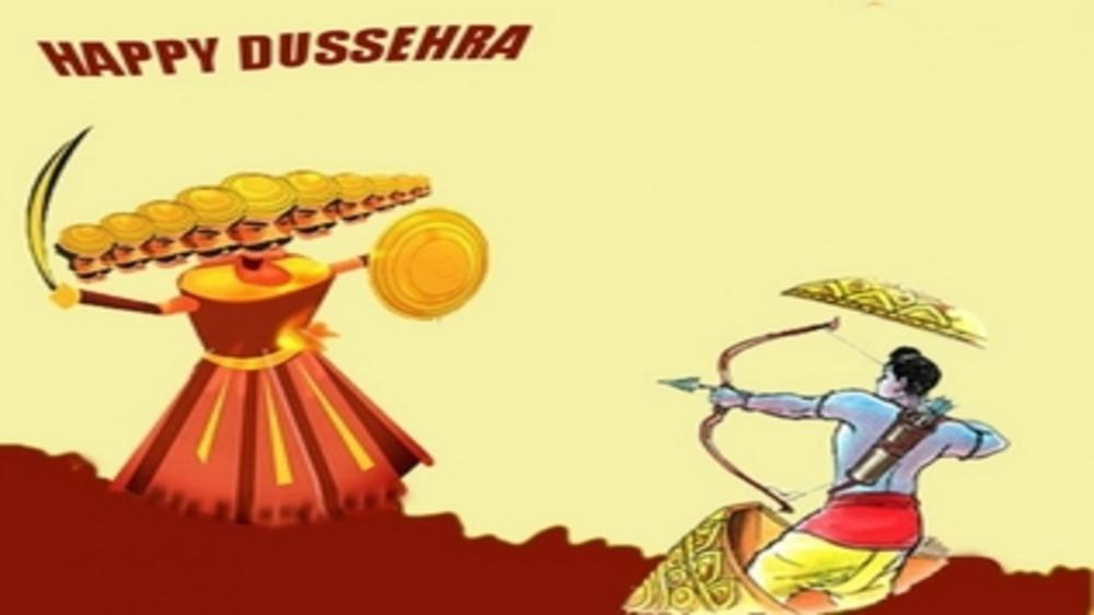 Vijayadashmi and making Ravana