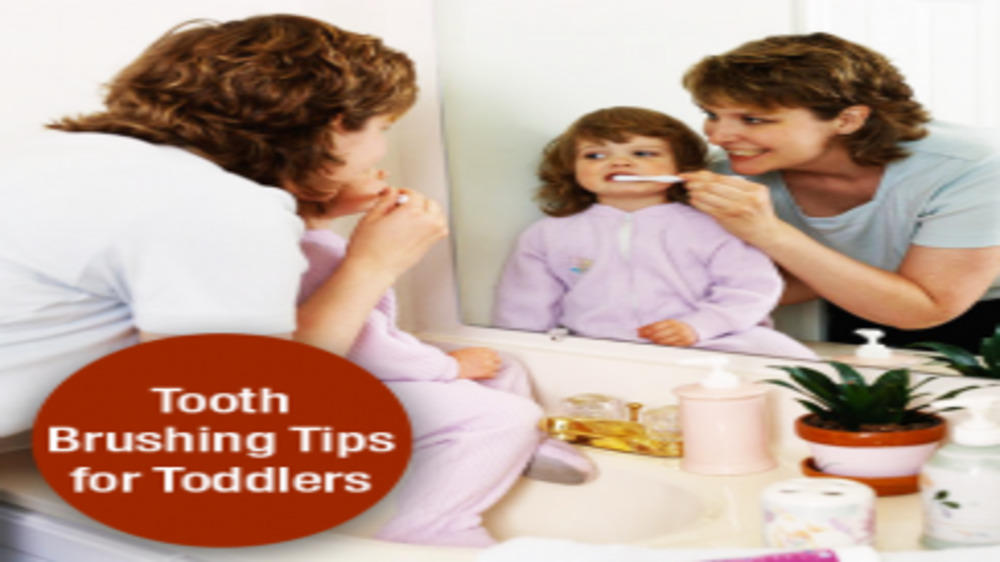 Tooth Brushing Tips for Toddlers
