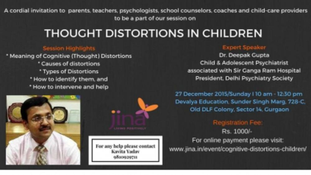 Cognitive (Thought) Distortions in Children