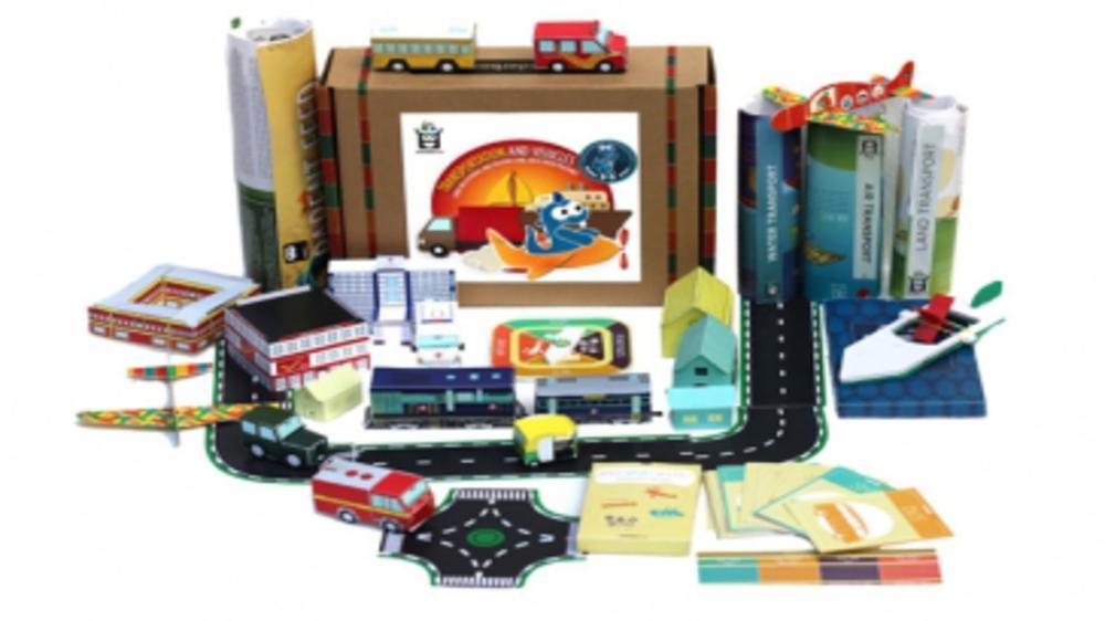 Unbox to unleash fun creative learning