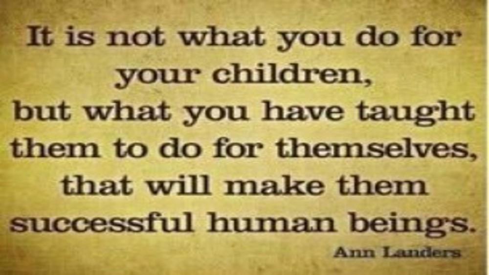 Teaching Kids to make Responsible Decisions