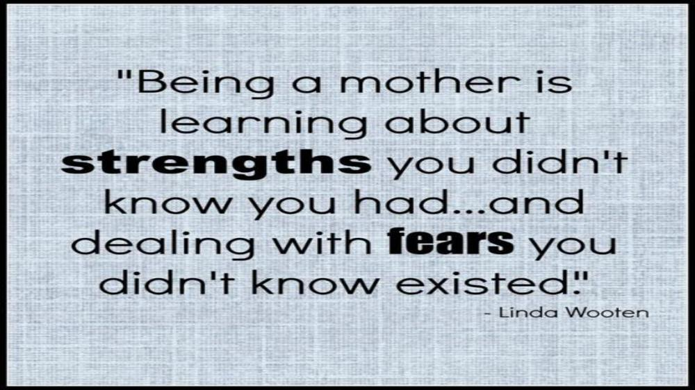 A MOTHER'S HONEST CONFESSION TO HER CHILD...