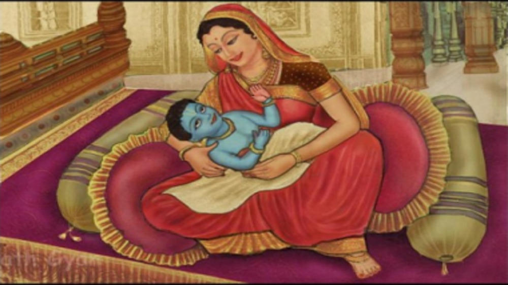 Ram Navami : The first conversation between new born Lord Rama and mother Kaushilya