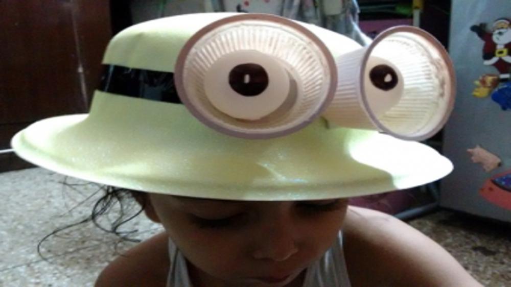 Minion hat - DIY