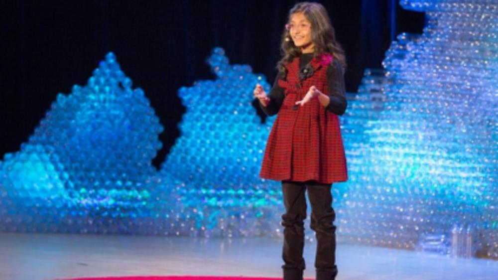 10 years old becomes youngest Indian to speak at TEDx in New York