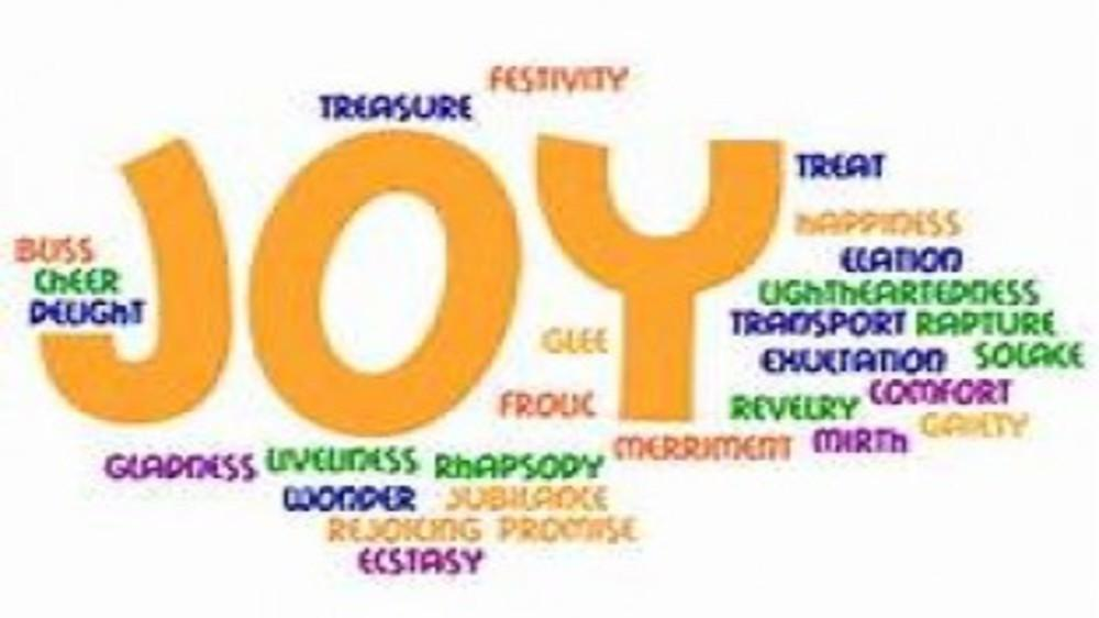 What is Joy? - Delight, Ebullience or triumph that moistens your eyes...