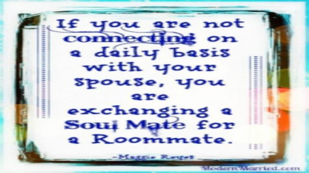 Spouse or Roommate !!!