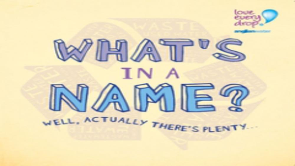 What is in a name? Everything – just ask any new parent!
