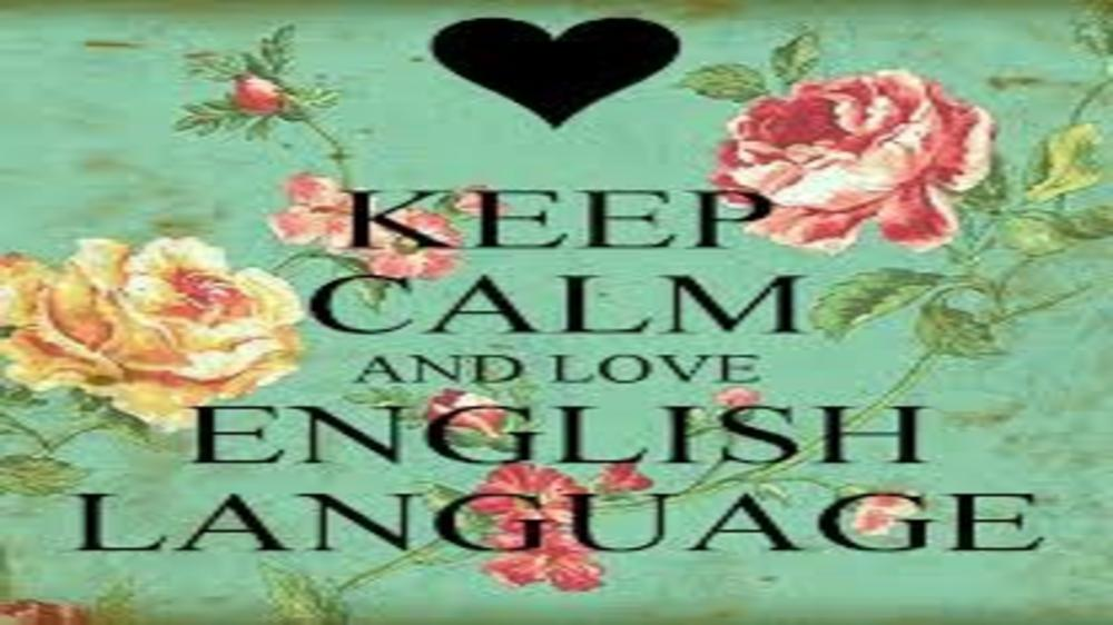 My son's first language is English and I am not apologetic about it!