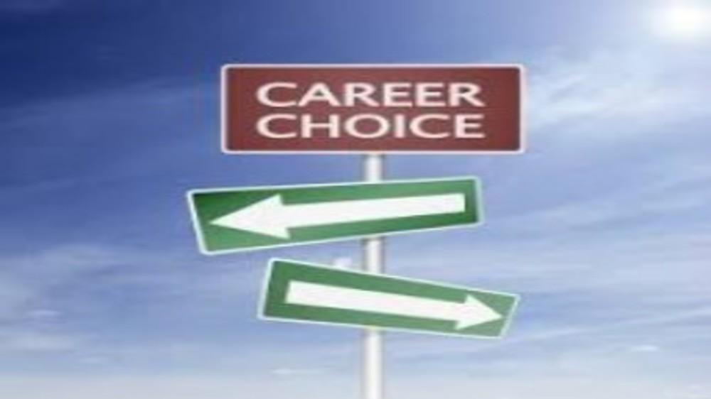 Making the right career choices...