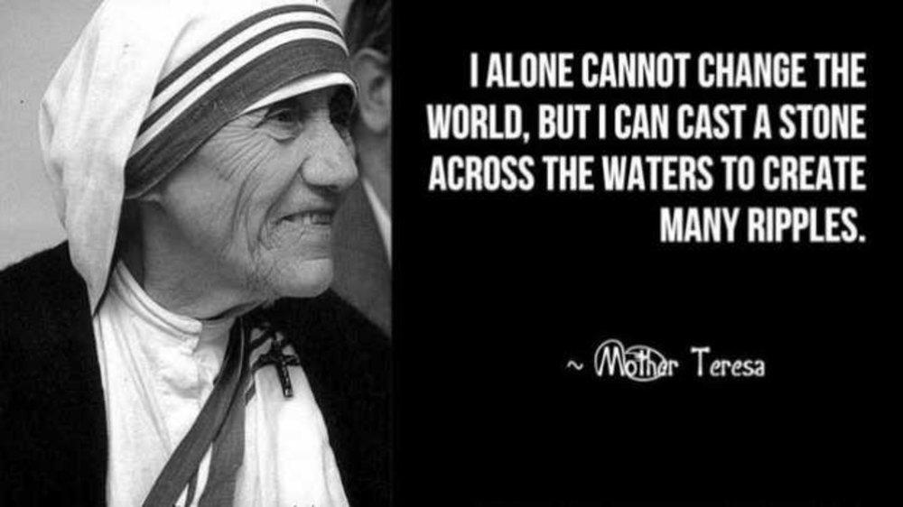 Mother Teresa and Why her Becoming a Saint Touched me so Personally