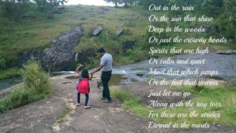 Eternal Strides with our child - Poem
