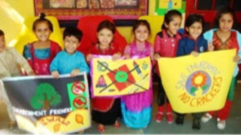 The education of Green Diwali