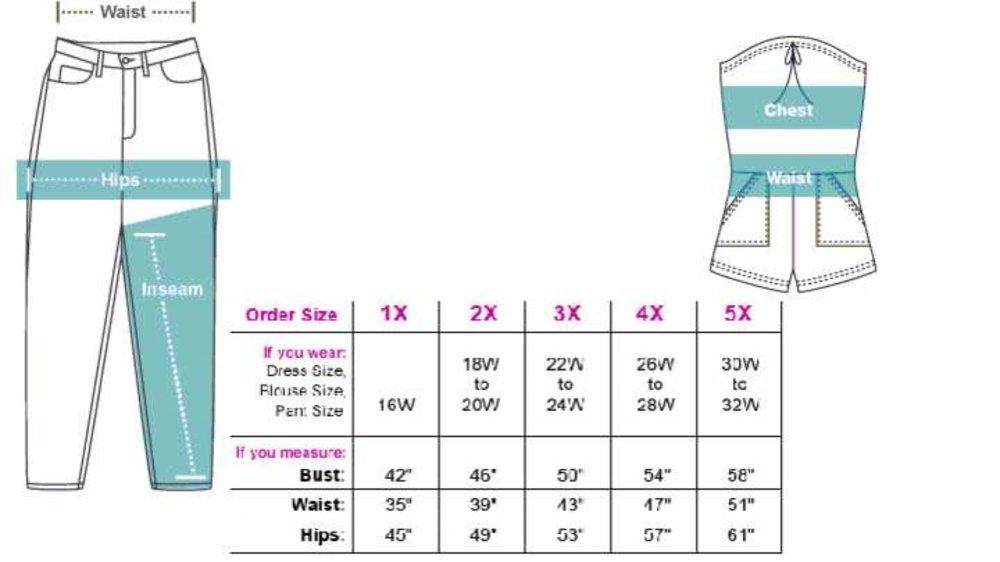 How to choose and understand clothes size.
