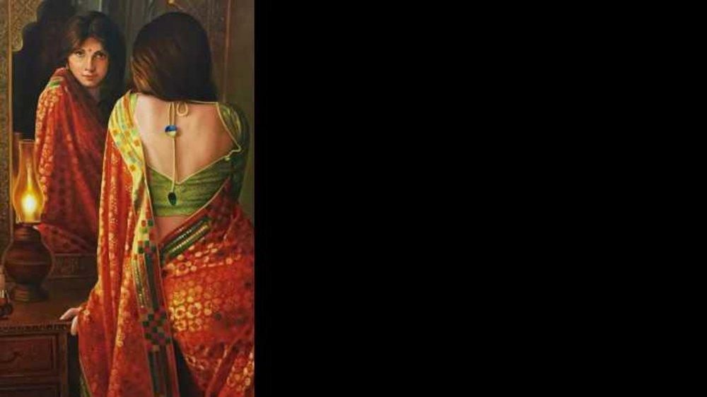 Yes.......I love to wear Saree.....