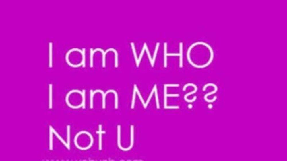 #stopjudging Me because I am unlike you.