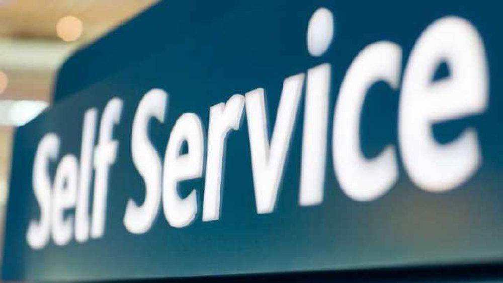 Self service at home ! A big NOOOOO!