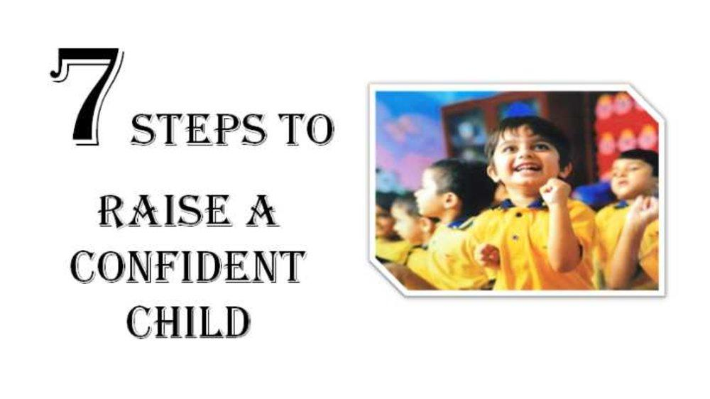 How to Raise a Confident Child?