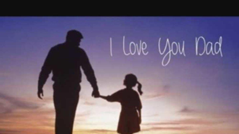 A rendezvous with her father in dreams....#happyfather'sday