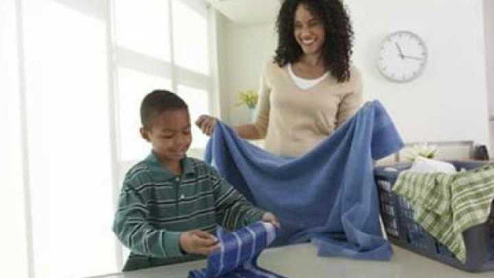 Why do I encourage my child to do basic household chores?