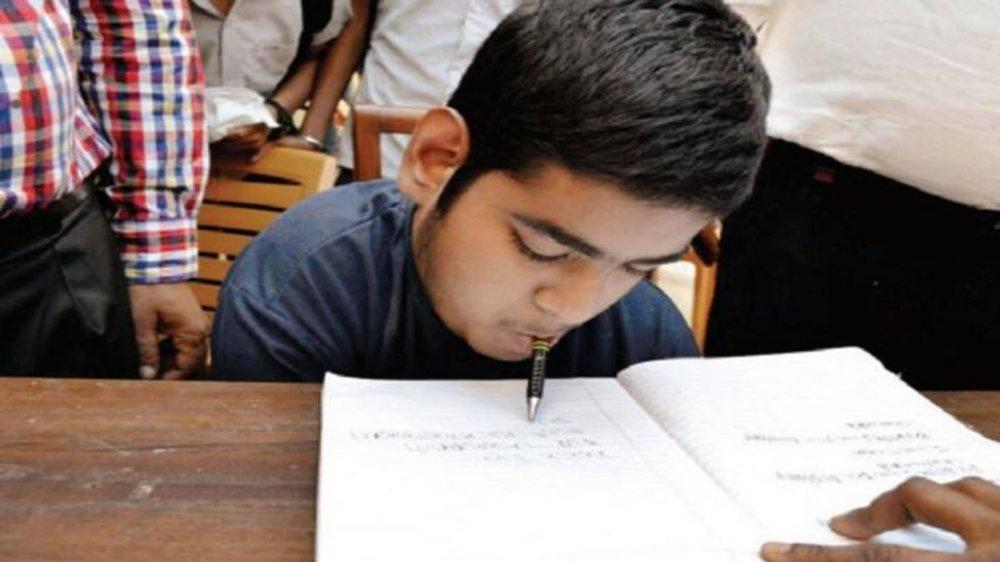 Disabled Boy Secures 88% in CBSE, Wrote Exam Holding Pen in His Mouth