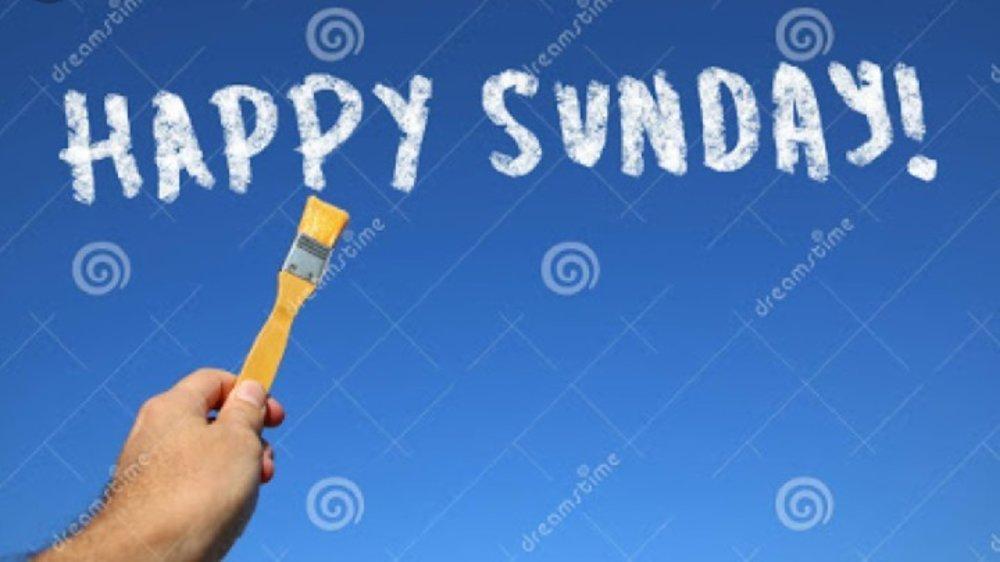 Let him enjoy his day, Sunday
