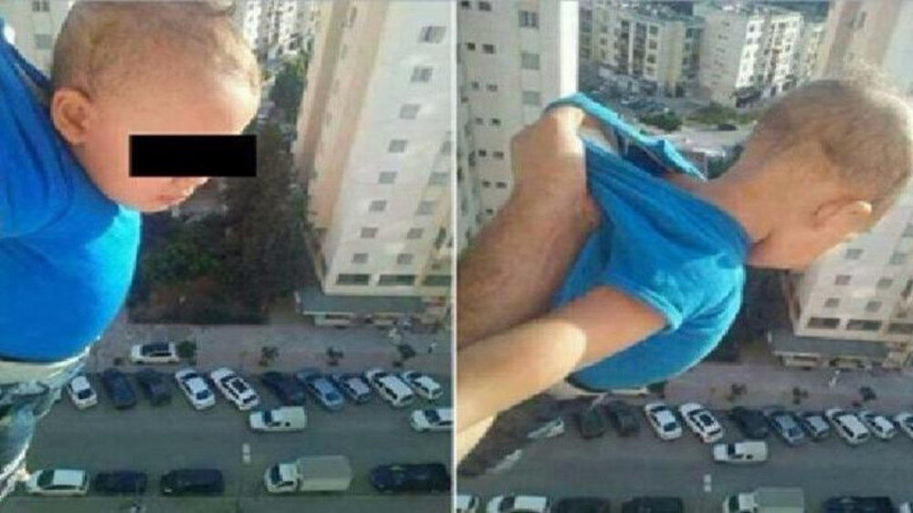 Man Dangles a Toddler from 15th Floor Window to Get Facebook Likes