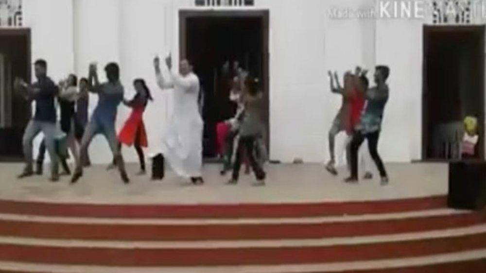 Kerala Priest Outshines Youngsters With His Viral Dance Moves