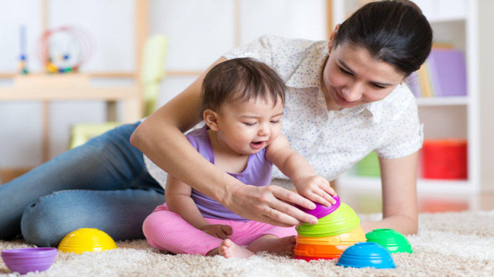 How a mother feels after baby is settled at preschool