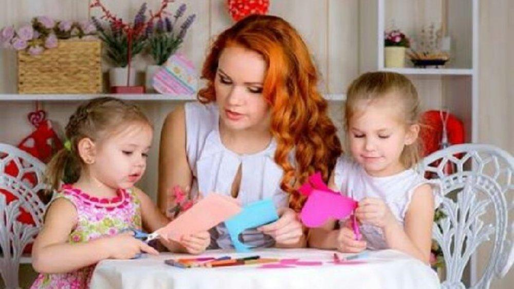 Card making: A rewarding experience for children.....and adults