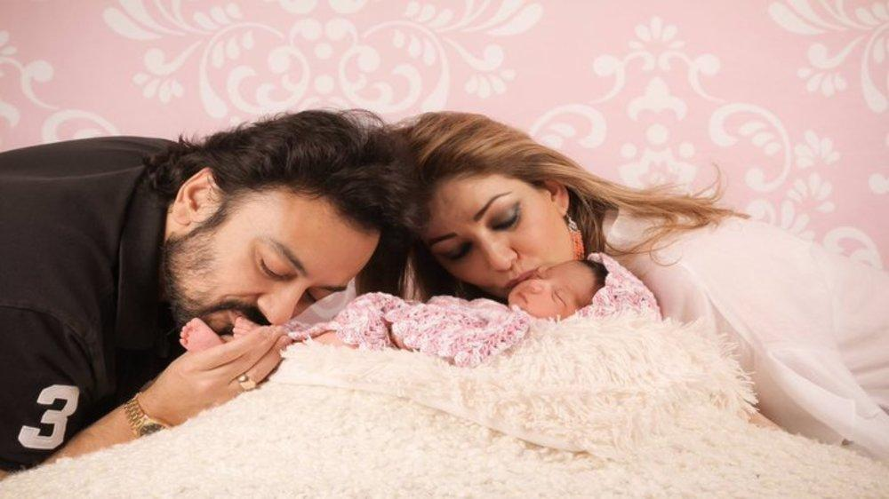 The Internet is Going Crazy Over the First Photos of Adnan Sami's Newborn