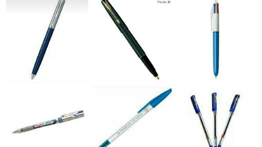 90 के दशक के भांति भांति के पेन .…😊😊